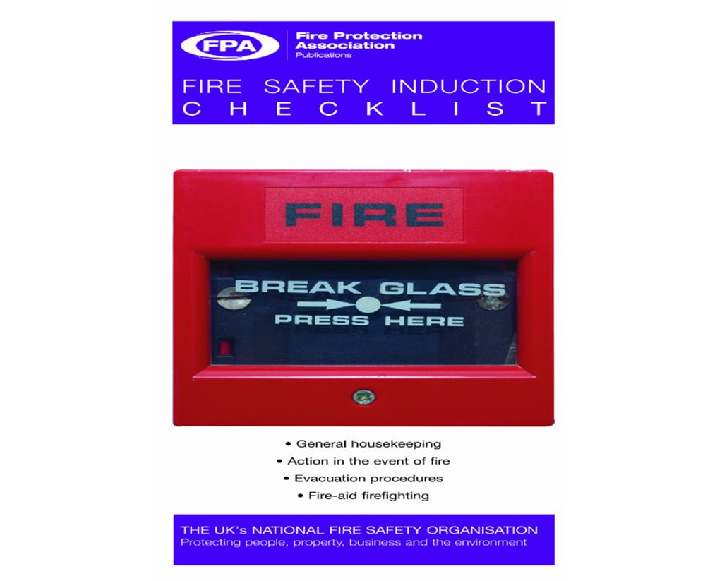 Fire Safety Induction Set of 25